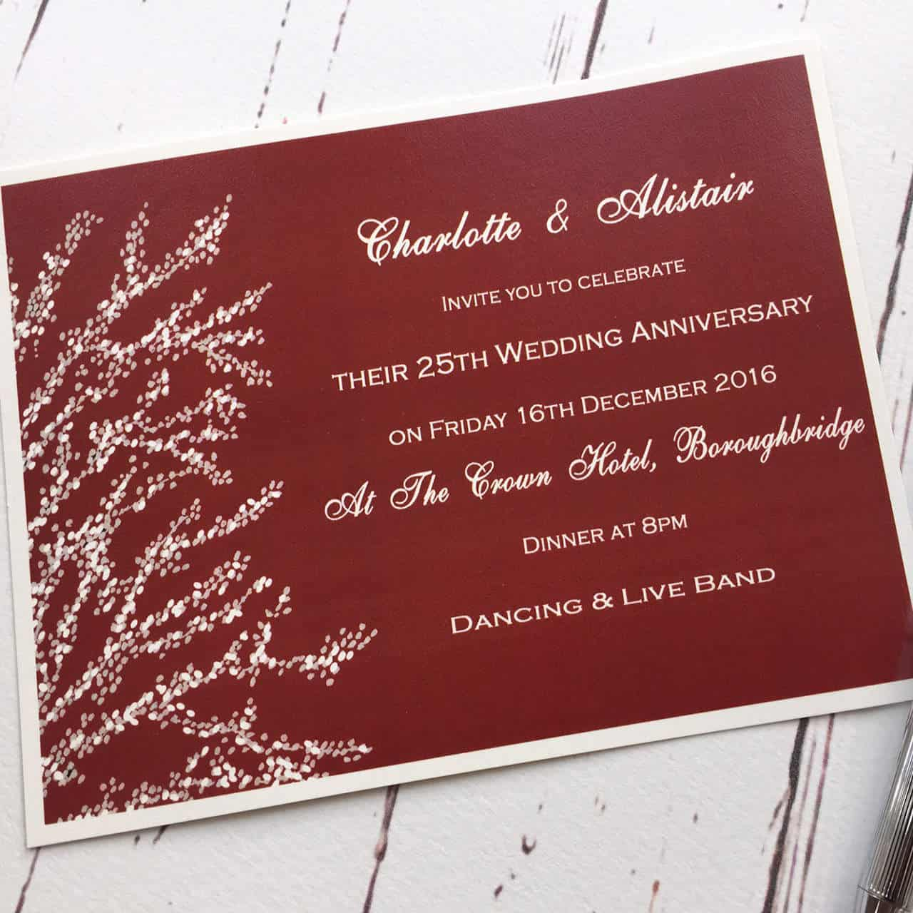 Bespoke Invitations deposit |