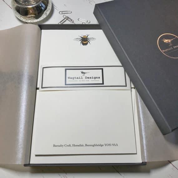Personalised bee paper
